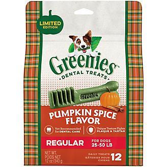 GREENIES Pumpkin Spice Regular Dog Chews 12oz