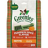 GREENIES Pumpkin Spice Petite Dog Dental Chew 12oz