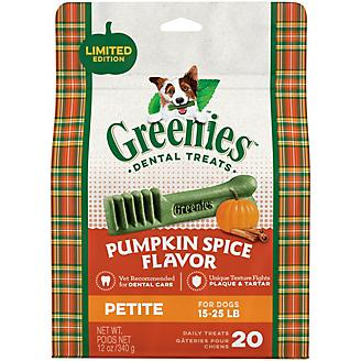 GREENIES Pumpkin Spice Petite Dog Dental Chew 12oz