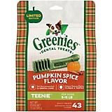 GREENIES Pumpkin Spice Teenie Dog Dental Chew 12oz