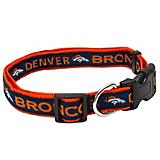 Denver Broncos Ribbon Dog Collar