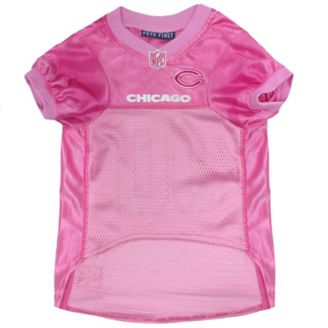 huge selection of 7ebef 9dc1d Chicago Bears Pink Dog Jersey