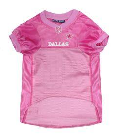 on sale 07da7 07704 Dallas Cowboys Pink Dog Jersey