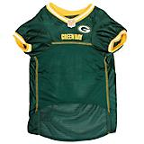 Green Bay Packers Yellow Trim Dog Jersey