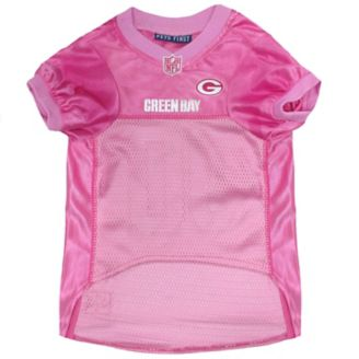 sports shoes 098a6 22c33 Green Bay Packers Pink Dog Jersey