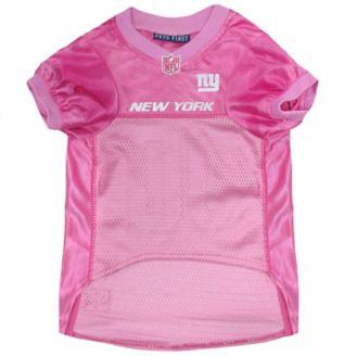 sports shoes 0ceb0 505da New York Giants Pink Dog Jersey