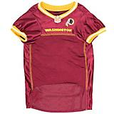 Washington Redskins Yellow Trim Dog Jersey