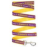 Minnesota Vikings Ribbon Dog Leash