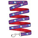 New York Giants Ribbon Dog Leash