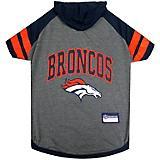 Denver Broncos Hoodie Dog Tee Shirt