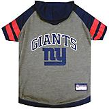 New York Giants Hoodie Dog Tee Shirt