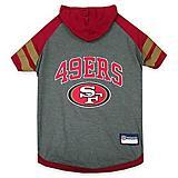 San Francisco 49ers Hoodie Dog Tee Shirt