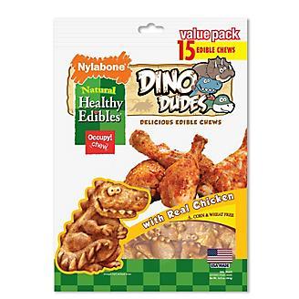 Healthy Edibles Dino Dudes Dog Chews 15ct