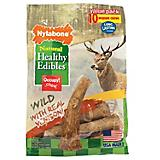 Healthy Edibles Wild Venison Antler Dog Chew 10ct