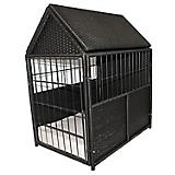 Iconic Pet Rattan Indoor/Outdoor Crate w/Storage