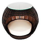 Iconic Pet Rattan Hide Away Indoor/Outdoor Pet Bed