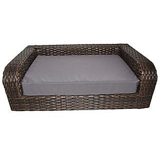 Iconic Pet Rattan Indoor/Outdoor Pet Sofa Bed