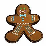 Pridebites Gingerbread Man Christmas Dog Toy