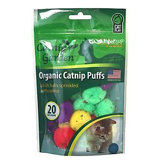 Multipet Catnip Garden Catnip Puffs 20 Count Bag