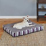 Quiet Time Empress Plum Stripe Dog Mattress