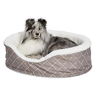 Quiet Time Ortho Mushroom Cradle Dog Bed