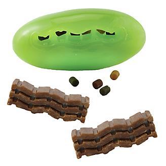 Starmark Pickle Pocket Dog Toy and Treat Bundle