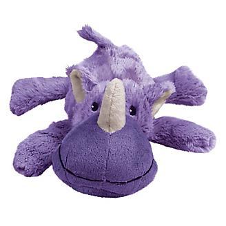 KONG Cozie Rosie Rhino Plush Dog Toy