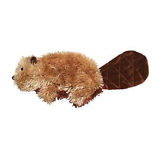 KONG Beaver Plush Dog Toy