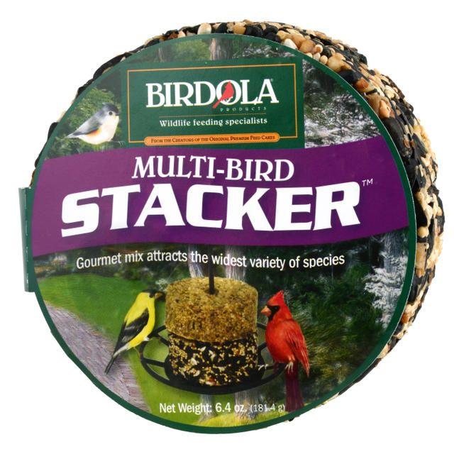 Birdola Multi Bird Blend Stacker Cake
