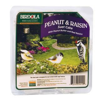 Birdola Peanut and Raisin Suet