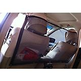 Pet Life Squared Easy-Hook Backseat Barrier