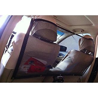 Pet Life Squared Easy-Hook Backseat Barrier