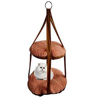 Pet Life Kittyhaus Dual-Lounger Cat Pillow