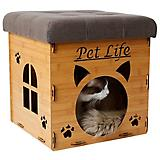 Pet Life Foldaway Collapsible Cat House