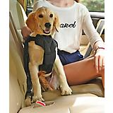 Pet Life Road-To-Safety Dog Car Harness Sm Black