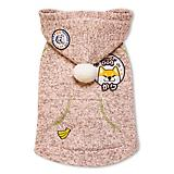 Touchdog Hippie Dog Hooded Sweater