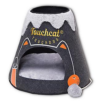 Touchcat Molten Lava Triangular Cat Bed