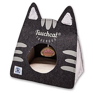 Touchcat Kitty Ears On-The-Go Cat Bed