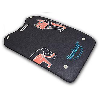 Touchcat Lamaste Reversible Pet Black Mat
