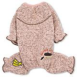 Touchdog Bark-Zz Thermal Jumpsuit Dog Pajamas