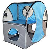 Pet Life Kitty-Play Soft Folding Cat House