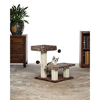 Kitty Power Paws Leopard Terrace Cat Furniture