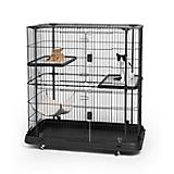 Prevue Deluxe 3 Level Cat Home