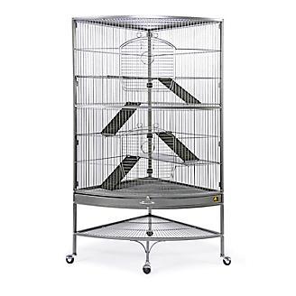 Prevue Corner Black Ferret Cage