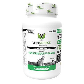 VetriScience NuCat Senior MultiVitamin Chew Tablet