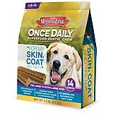 Missing Link Skin/Coat Dental Chews Large Dog