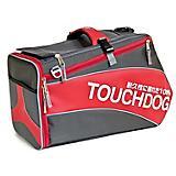 Touchdog Airline-App Modern-Glide Pet Carrier Red