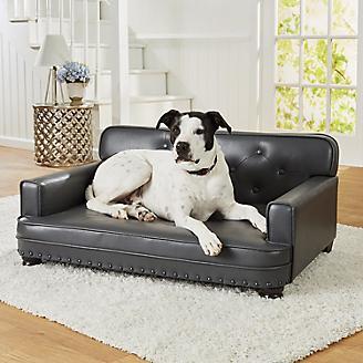 Enchanted Home Pet Library Grey Sofa Dog Bed