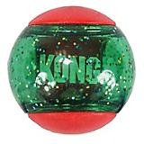 KONG Holiday Squeezz Action Ball Dog Toy