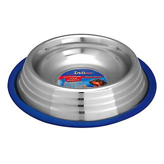 Indipets Silver Touch Anti-Skid Dog Bowl